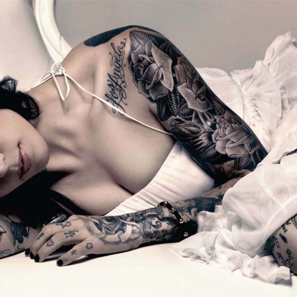 Kat Von d Wallpaper Hot and Sexy Picture Tattoo Images and Pictures Download 3 600x600 - Come risvegliare la cattiva ragazza dentro di voi